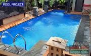 Pembuatan Kolam Renang Bapak Akbar di Kota Wisata, Cibubur
