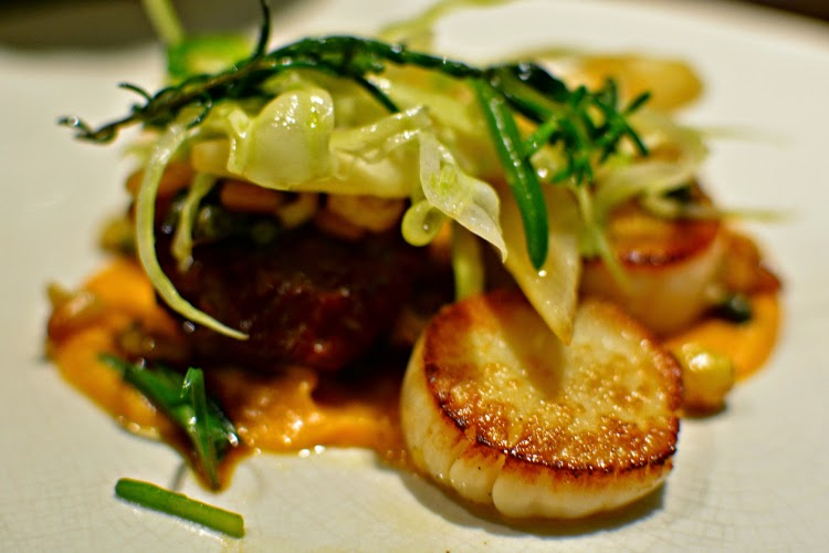 Fenchurch Seafood and Grill scallops