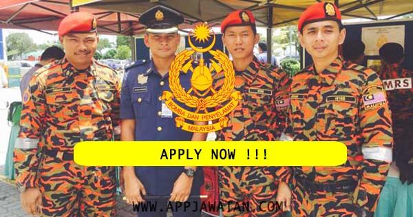 Jawatan Kosong di Jabatan Bomba dan Penyelamat Malaysia (JBPM)