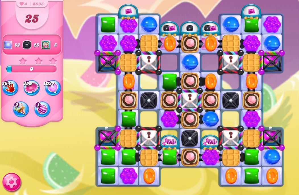 Candy Crush Saga level 8595