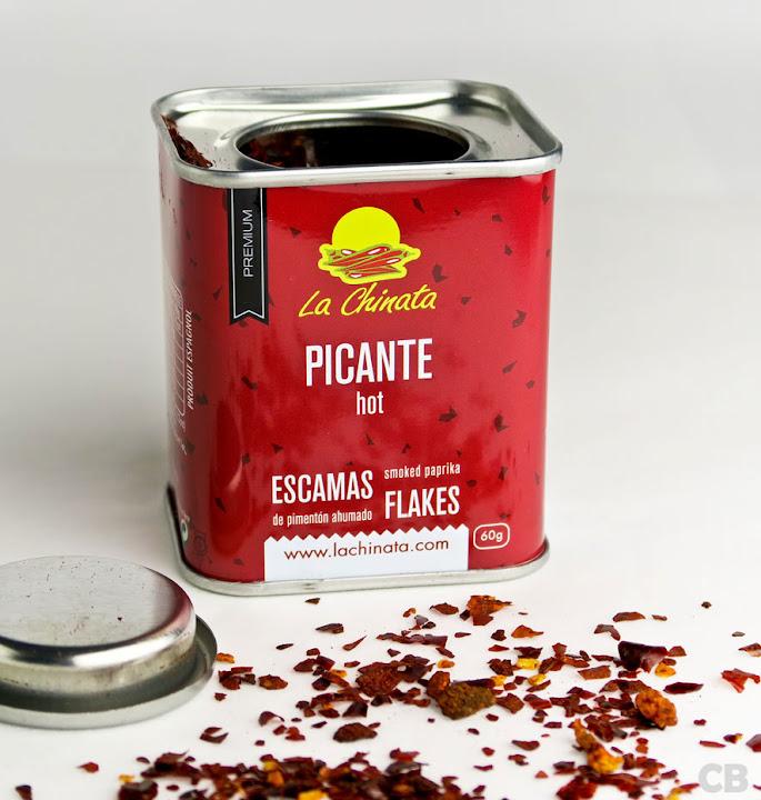 Lekker pikante en rokerige pimentón-flakes!
