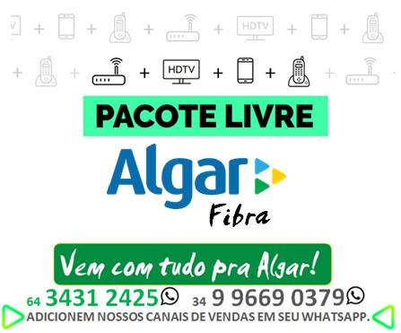 Algar Telecom Itumbiara, Uberlândia, Uberaba, Patos de Minas.