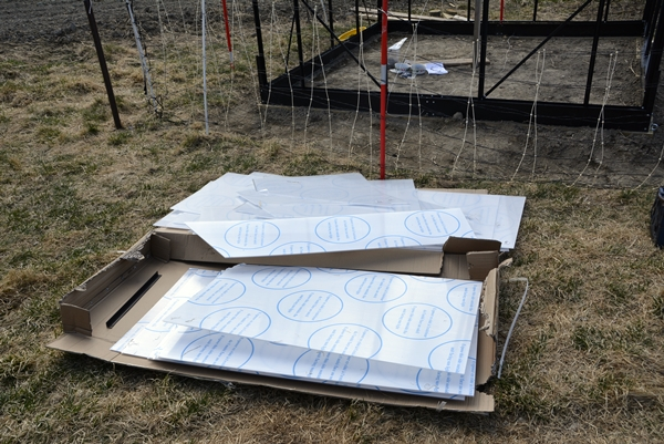 montering drivhus