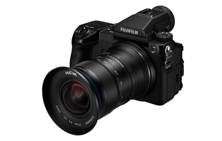 Объектив Laowa 17mm f/4 Zero-D для Fujifilm GFX