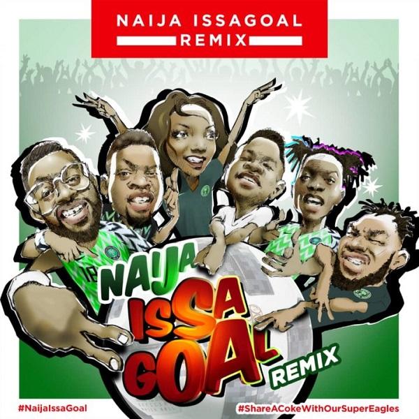 Naira Marley, Olamide, Lil Kesh, Falz, Slimcase, Simi - Naija Issagoal (Remix) 2018 Download Mp3