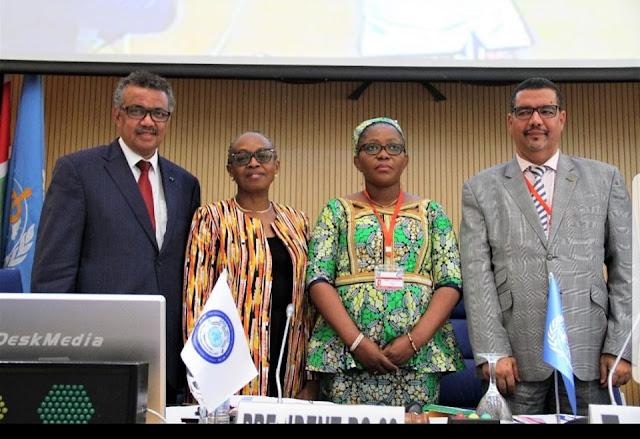 برازافيل (الكونغو) : فوز د. الشيخ باي بمنصب مقرر بمنظمة الصحة العالمية..