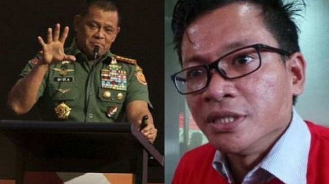 Argumennya Dibungkam Usman Hamid, Jenderal Gatot Nurmantyo akan Bicara PKI Sampai Mati!