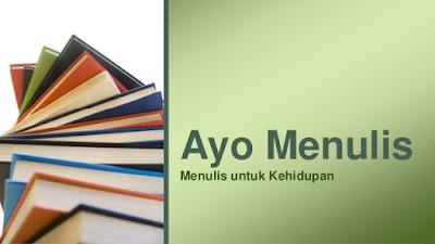 ayo belajar menulis
