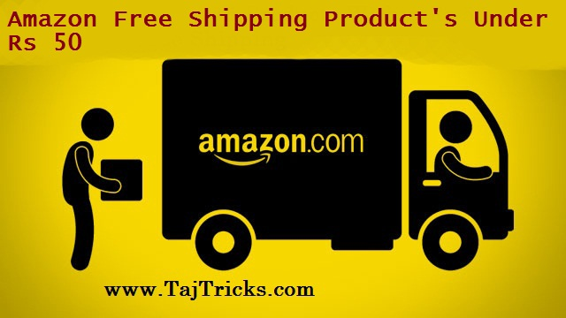 Amazon Free Shipping Products Under Rs 50