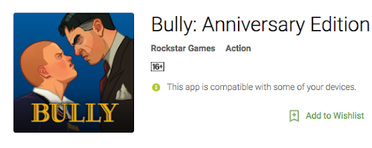 'Bully', A Game That I Played Years Back Is Much More Popular Now