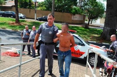 POLÍCIA MILITAR PRENDE LADRÃO DE FIOS TELEFÔNICOS EM IPORANGA