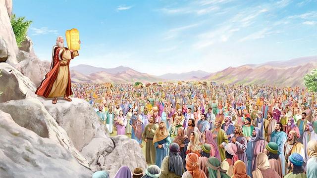 東方閃電-全能神教會-摩西向百姓頒布律法