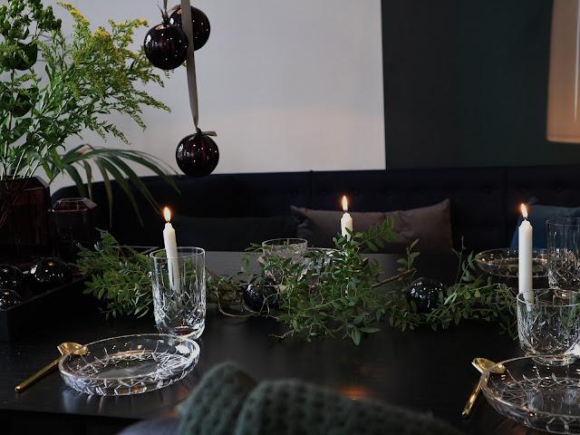 Noël / Christmas / Vaisselle / Cristal / 3 / Louise Roe Copenhagen /