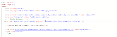 Html tag of google analytics, Search console of google