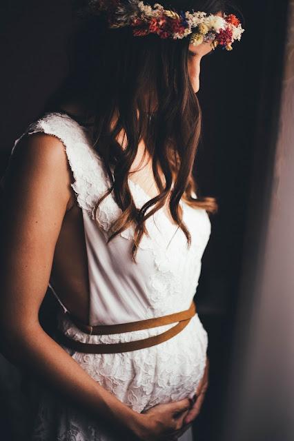vestido novia freepeople embarazada