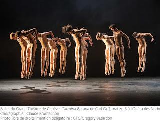 Carmina Burana del Ballet du Grand Théâtre de Genève a Modena