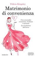 """Recensione """"Matrimonio di convenienza"""" di Felicia Kingsley"""