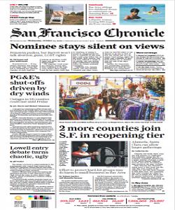 sanfrancisco, san francisco chronicle magazine 14 October 2020, san francisco chronicle magazine, san francisco news, free pdf magazine download.