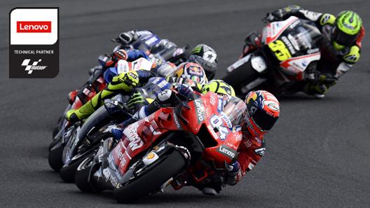 Dorna ™ Sports Nomeia a Lenovo™ como Parceiro Técnico do MotoGP ™