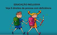 Direitos da Pessoa com Deficiência à Educação Inclusiva