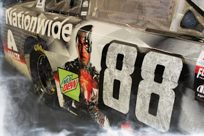 Dale Jr.'s #88 Justice League Car Does Not Comply with #NASCAR Rules