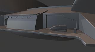 Akira class starship Shuttlebay type 6 shuttle
