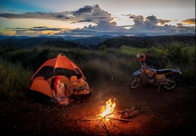 Camping- Loại hình du Du lịch bụi được giới trẻ yêu thích