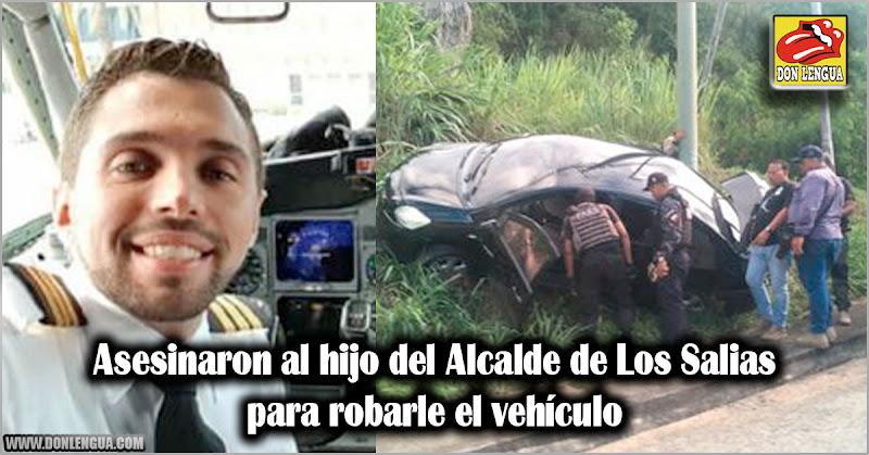 Asesinaron al hijo del Alcalde de Los Salias para robarle el vehículo