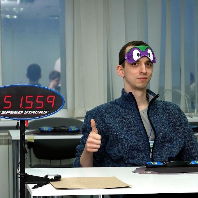 Maksym Dumanskyi, Cuber Dengan Tingkat Keberhasilan Tertinggi Dalam BLD