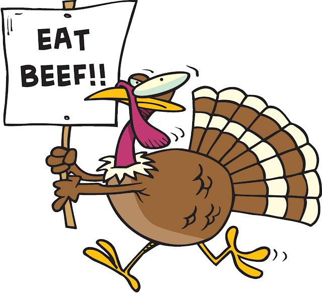 Thanksgiving Funny Turkey Clipart