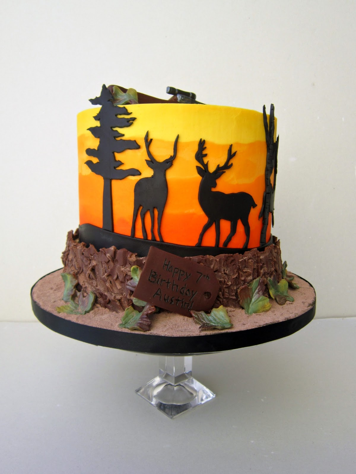 Outdoors Birthday Cake Picture Not Mine Ashers Confections