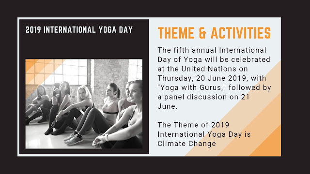 2019 International Yoga Day Theme