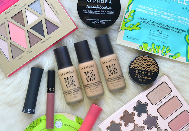Sephora Collection Best Skin Ever Liquid Foundation Flatlay