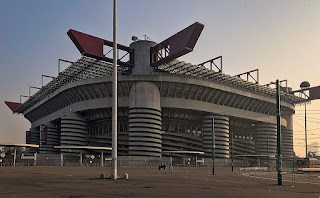 The Stadio Giuseppe Meazza has been an iconic sight in the Milan landscape for almost a century