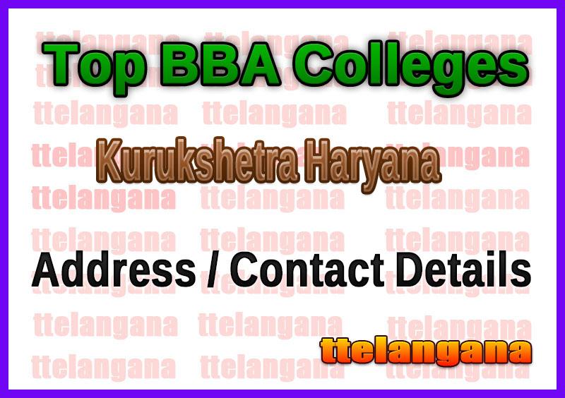 Top BBA Colleges in Kurukshetra Haryana
