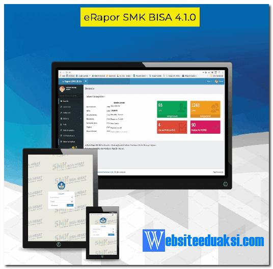 Aplikasi e-Rapor SMK Versi 4.1.0 dan Panduan