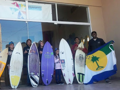 Equipe de surfe municipal  juniores da Ilha disputa a 1ª Etapa do circuito Hang Loose de Surf Atack