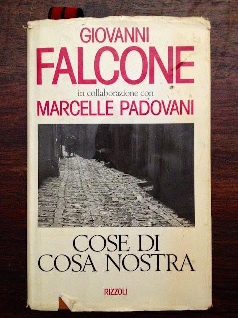 Cosas de la Cosa Nostra - Cose di Cosa Nostra - Rizzou - Giovanni Falcone - Marcelle Padovani - ÁlvaroGP - el troblogdita