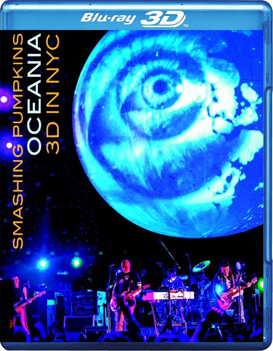 The Smashing Pumpkins: Oceania 3D Live in NYC [2012] [BD50] [2D + 3D]