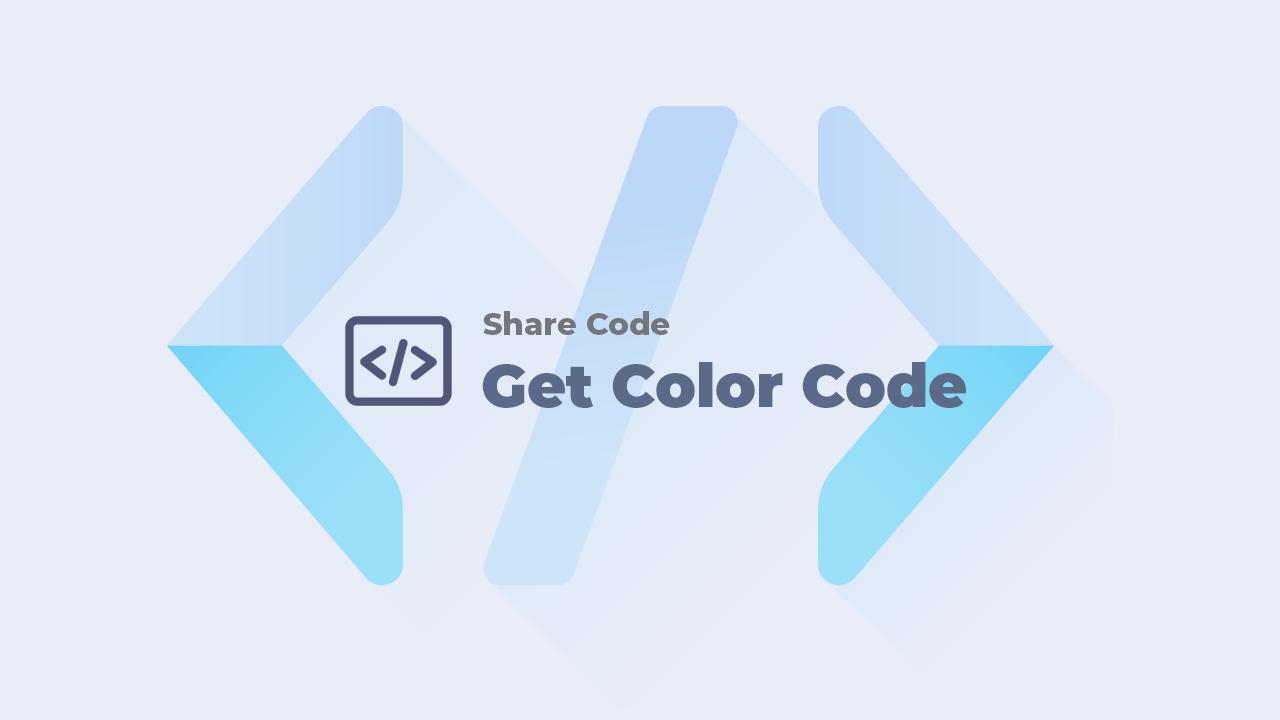 Share code lấy mã màu từ ảnh cho blog/website