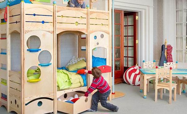 صور غرف نوم اطفال مودرن وكلاسيك بسريرين 2021