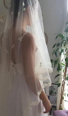 Robe de mariée créée par Eugene Kim