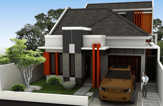 Gambar Contoh Rumah Minimalis Modern 3 Kamar Si Kecil