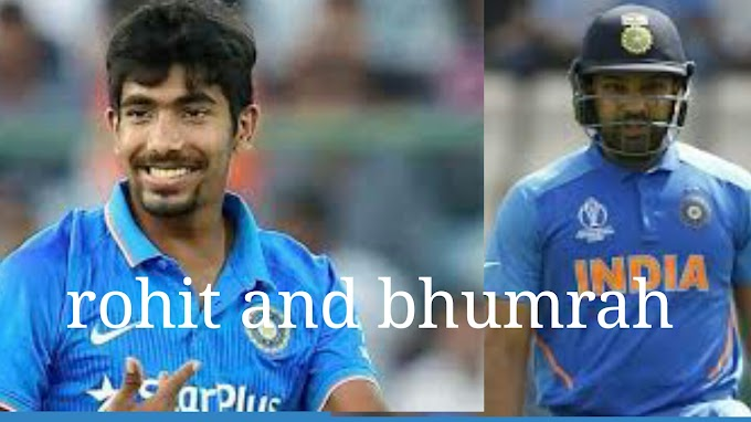 Rohit sharma and jasprtit bhumrah only in icc world cup