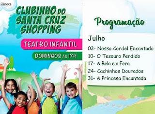 Santa Cruz Shopping apresenta a peça infantil 'Cachinhos Dourados'