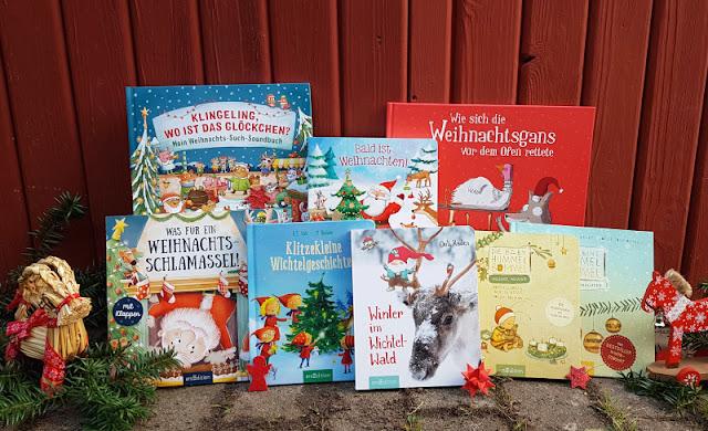 Wichtel- und Weihnachtsbücher voller Zauber für Kinder ab 2 Jahren. Auf Küstenkidsunterwegs zeige ich Euch wundervolle Kinderbücher zu Wichteln, Advent und Weihnachten.