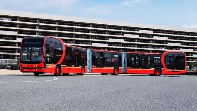 Ini Bus Listrik Terpanjang di Dunia