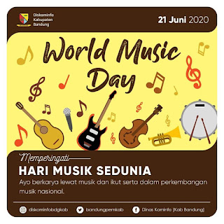 50 Link Twibbon Bingkai Foto Hari Musik Sedunia 21Juni 2021, yang Dapat Kamu Download Secara Gratis