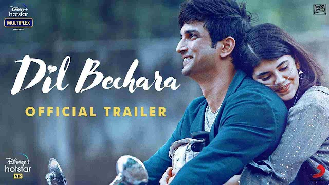 Dil Bechara | Official Trailer | Sushant Singh Rajput