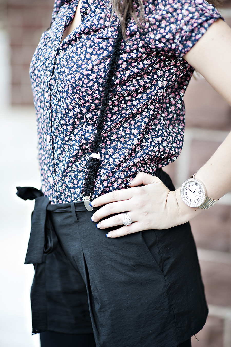 Floral Top, Watch